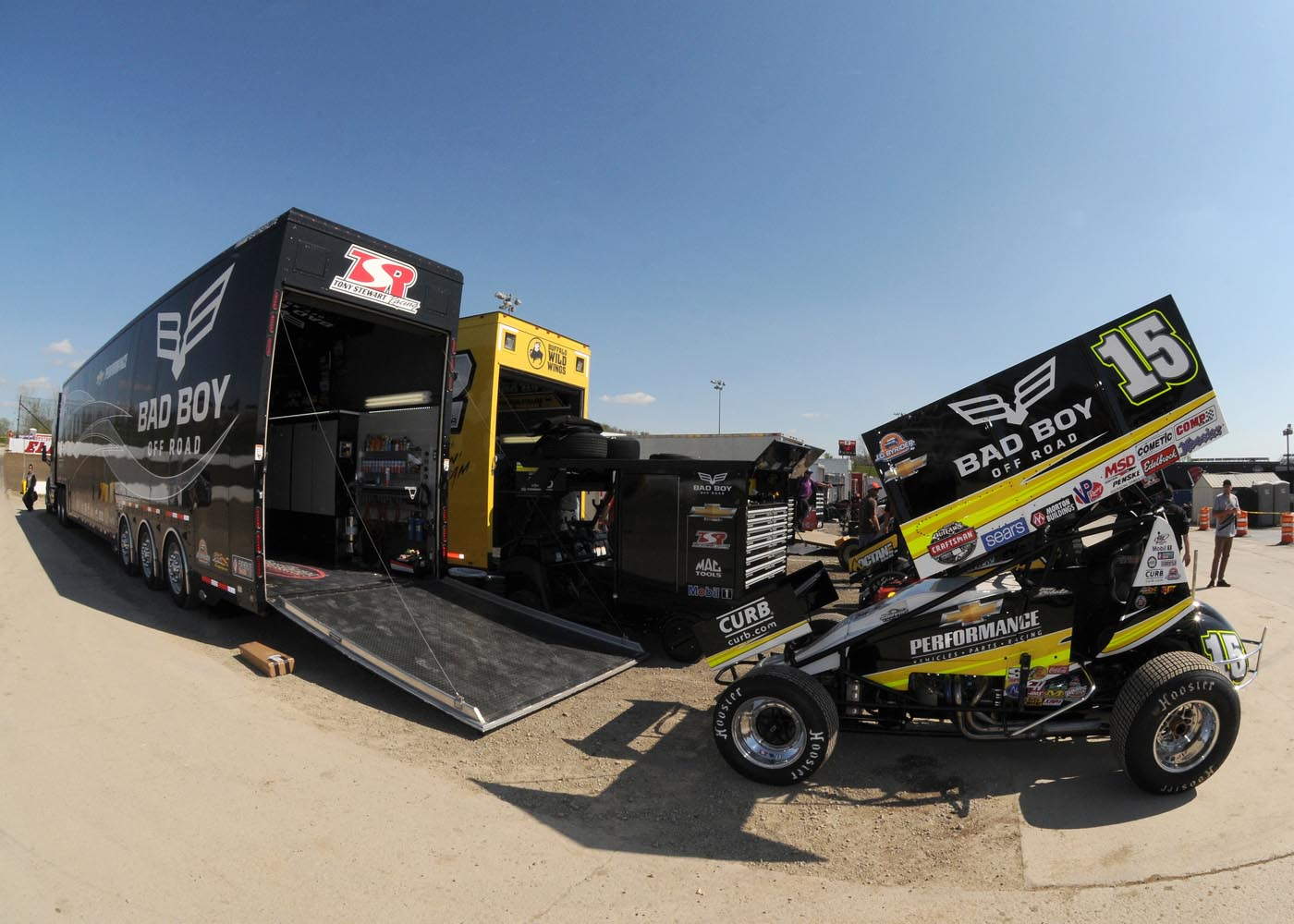 Donny Schatz Debut At Lincoln Park Tony Stewart Racing