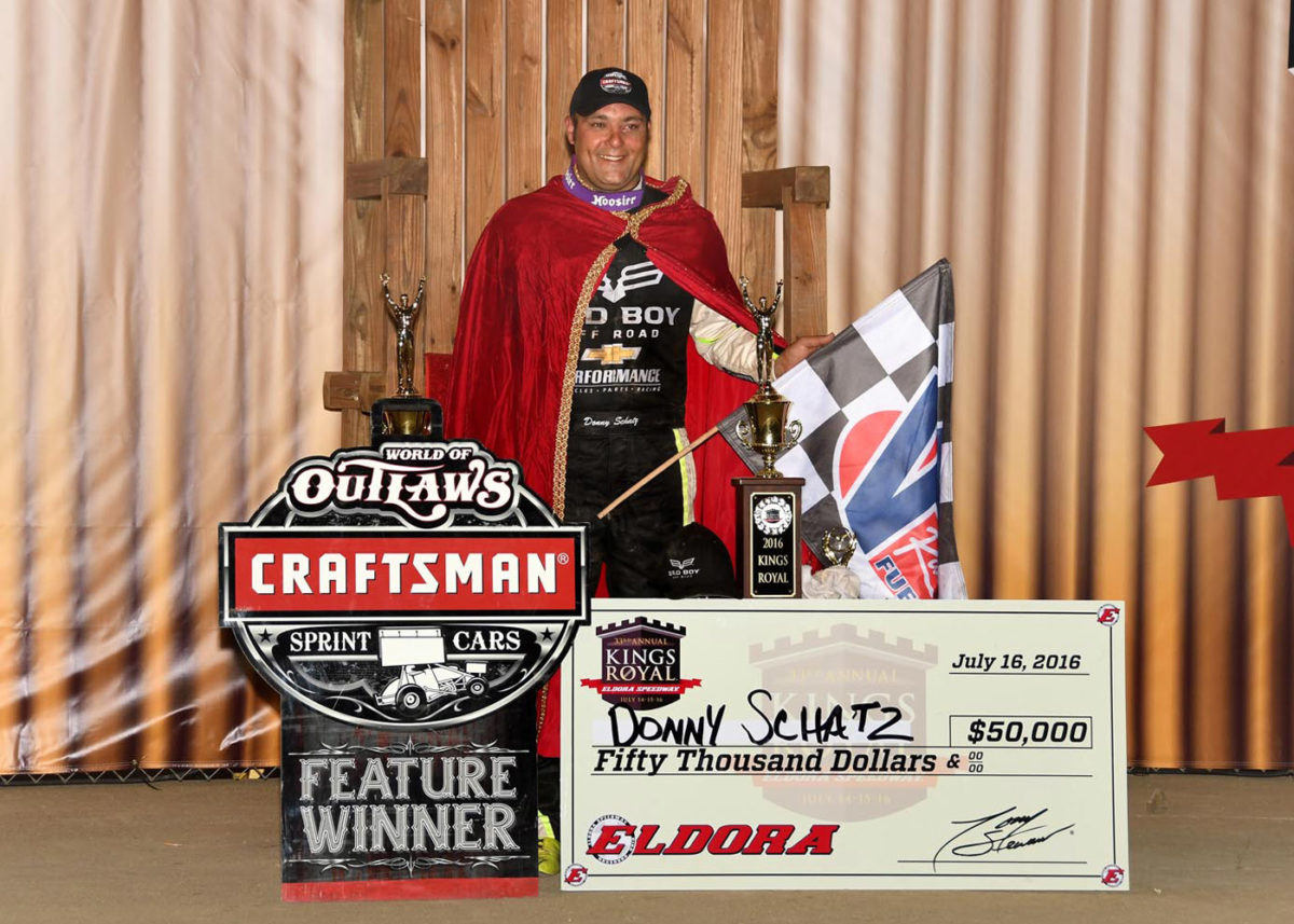 'King Donny 33' Delivers at Eldora