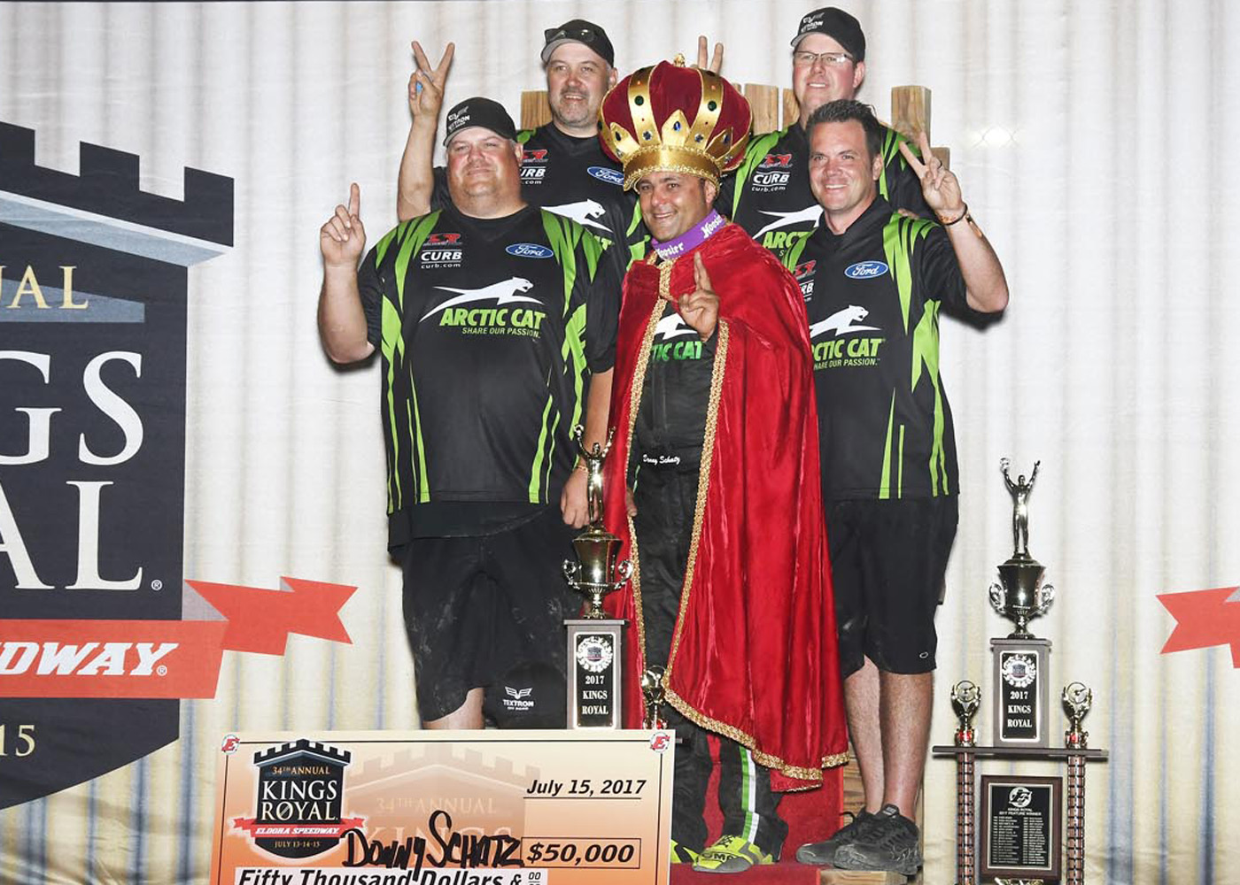 SCHATZ, TSR REPEAT KINGS ROYAL WIN