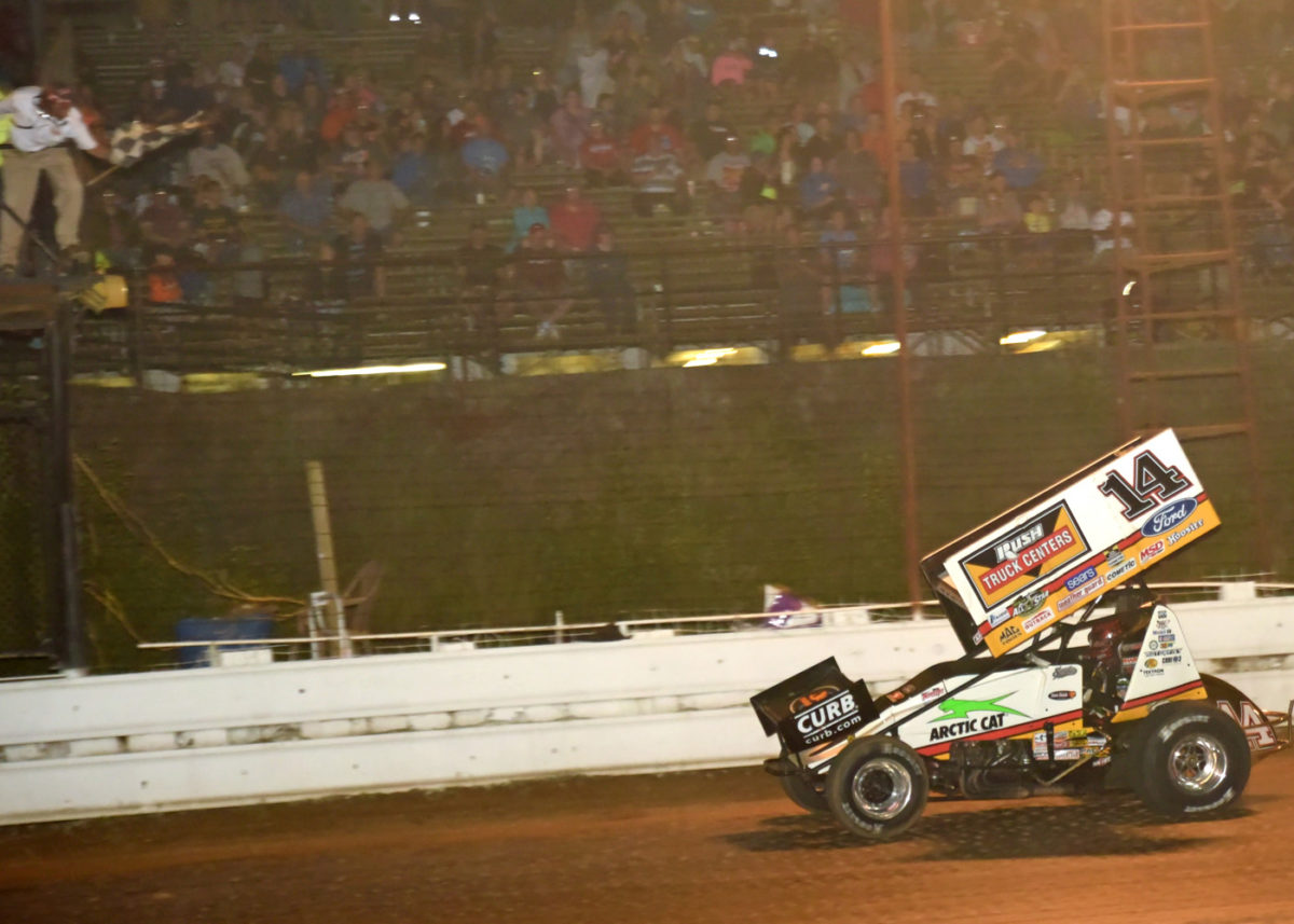 STEWART WINS ALL-STAR MAIN EVENT
