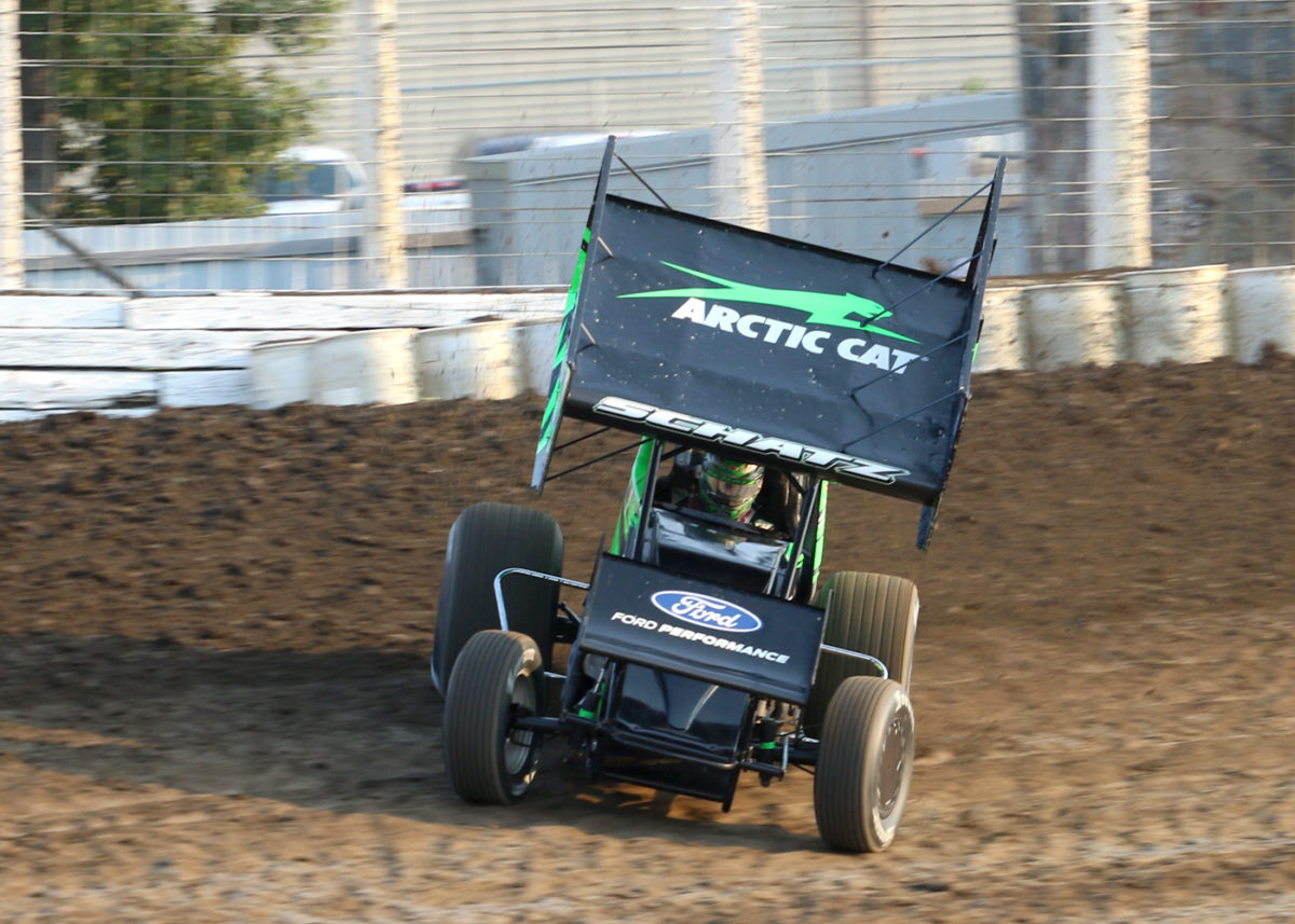 Schatz Consistent in Outlaws' Return to South Dakota, Montana