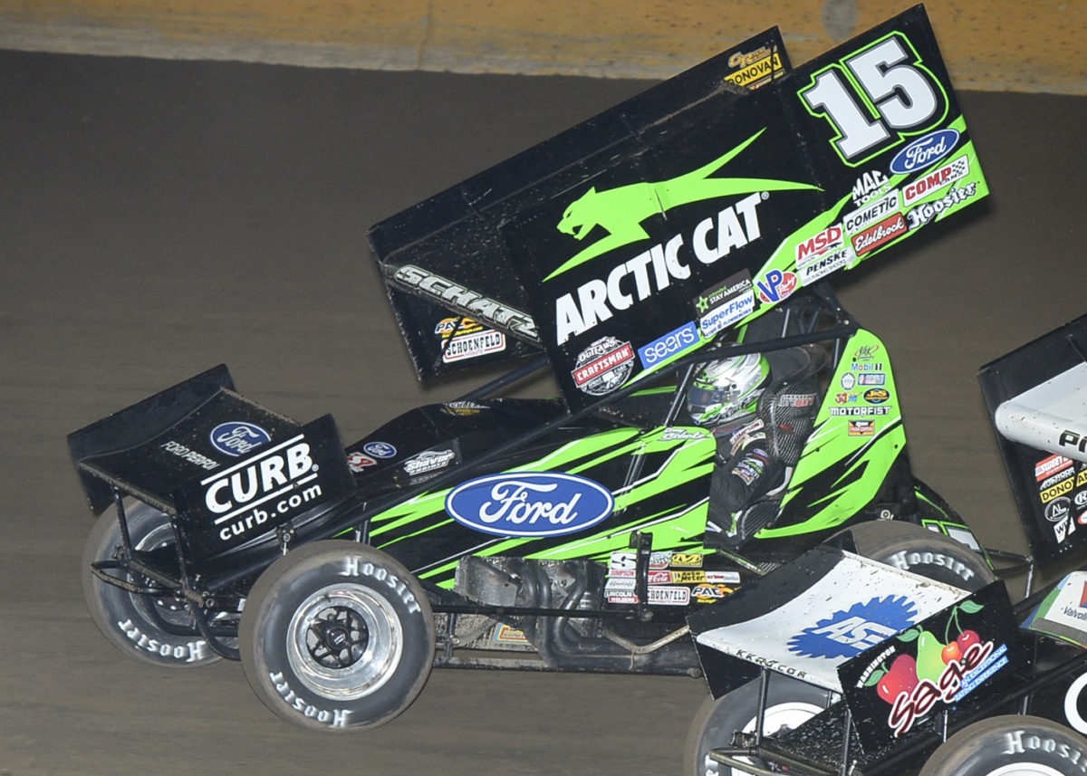Schatz Posts Three Top-10s in Washington