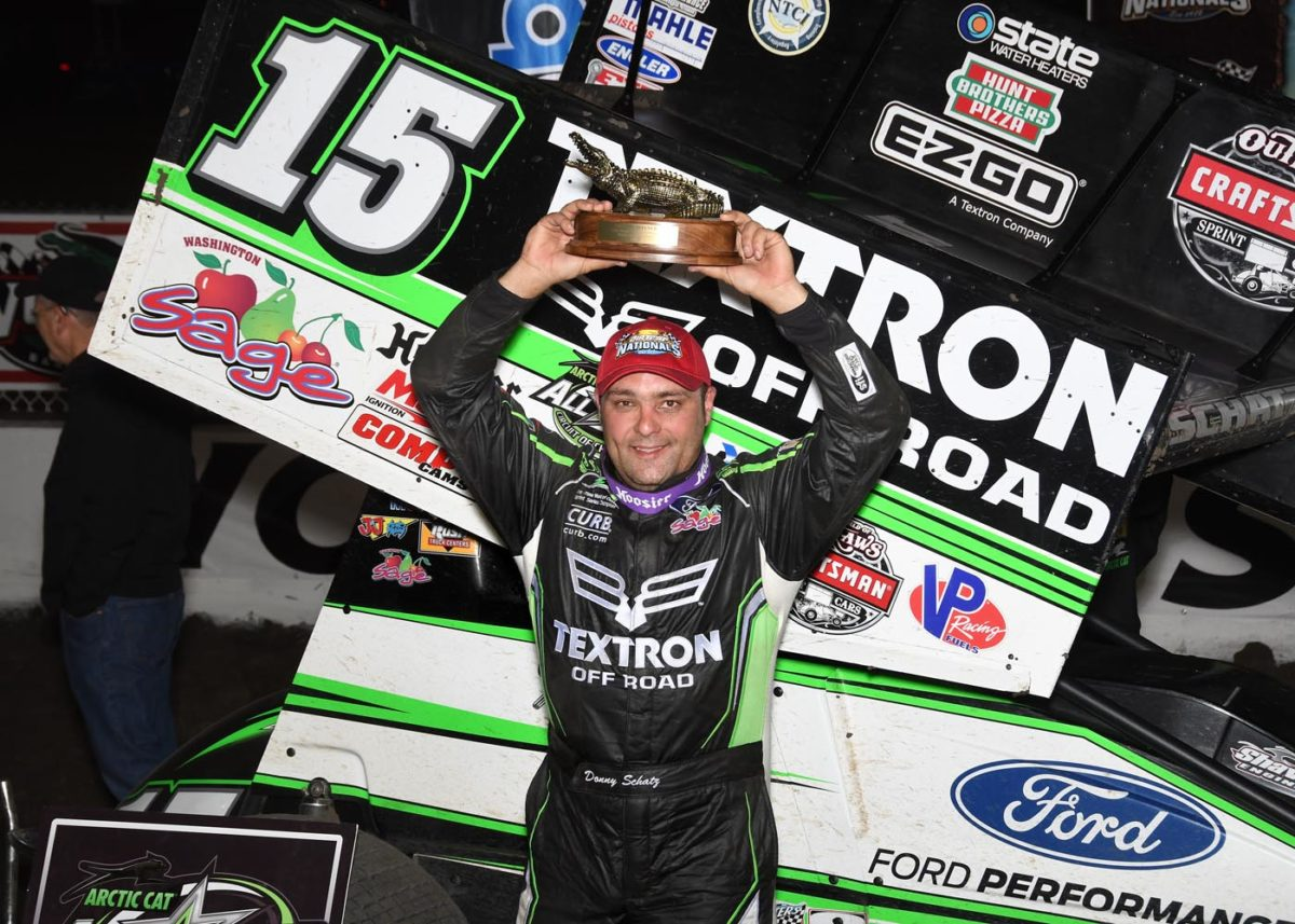 Donny Schatz wins four out of five during DIRTcar Nationals