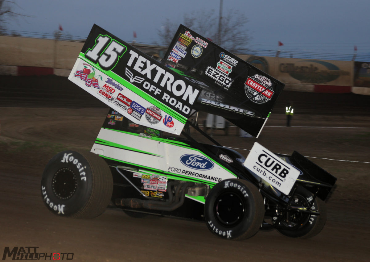 Donny Schatz rallies fifteen positions for top-ten at Bakersfield