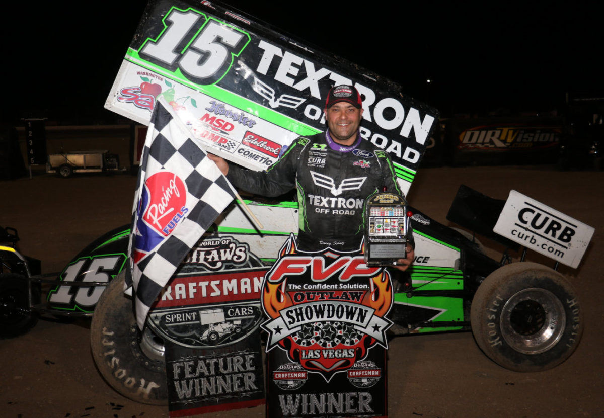 Schatz hits jackpot in Sin City; Wins night two of FVP Outlaw Showdown