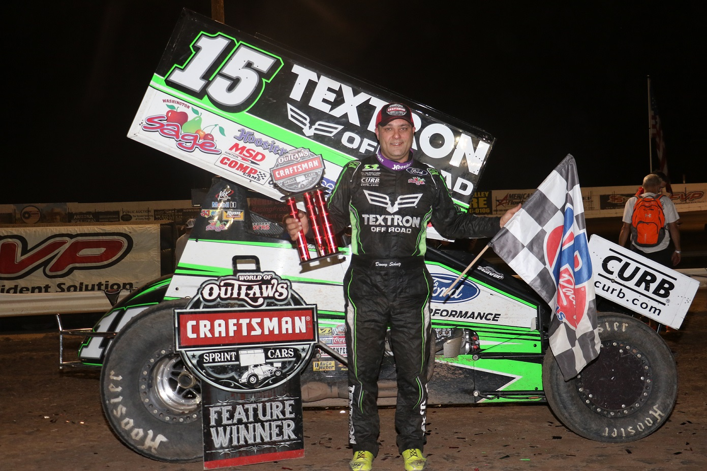 Donny Schatz concludes first West Coast Swing of 2018 with a win in the desert