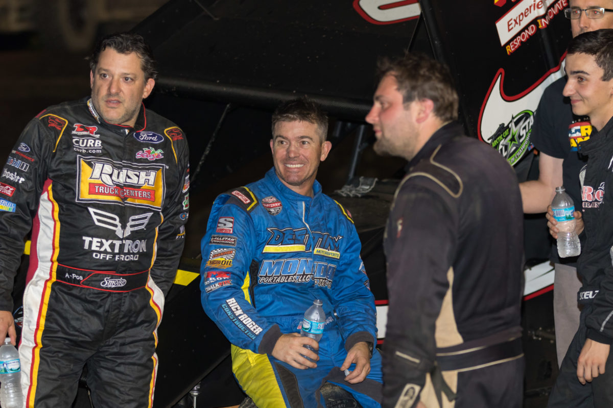 Tony Stewart earns All Star top-ten during visit to Plymouth Speedway