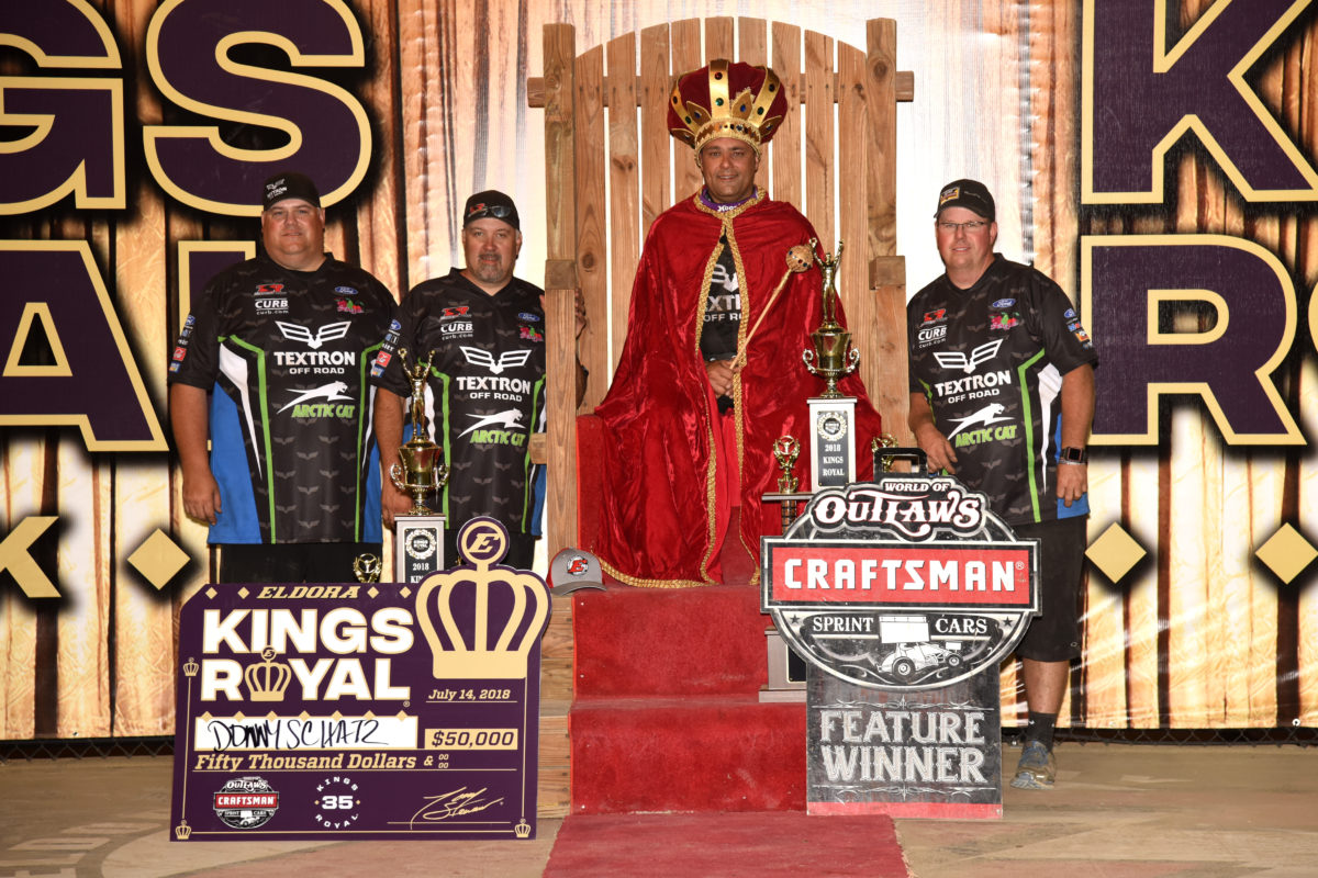 Donny Schatz earns unprecedented third consecutive Kings Royal title