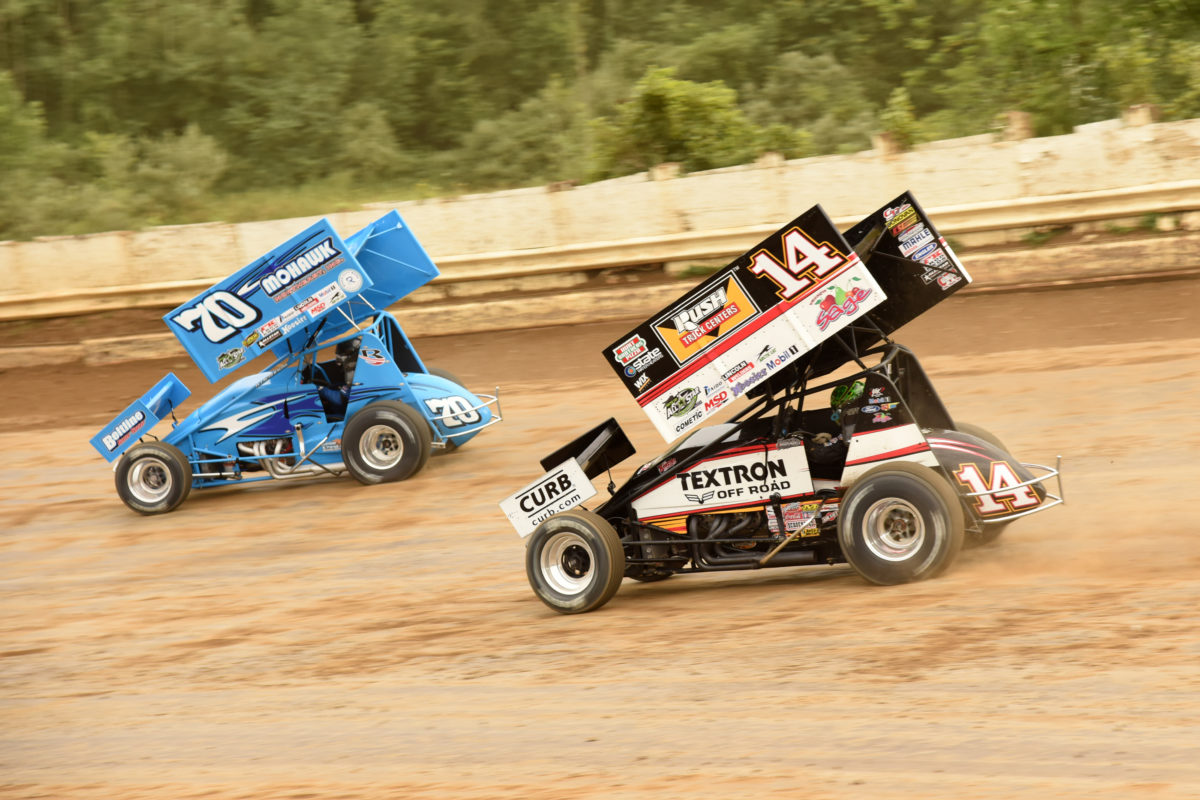 Smoke scores top-ten with All Stars at Eriez Speedway; Will follow All Stars to Angell Park, Jackson, Knoxville, and 34 Raceway