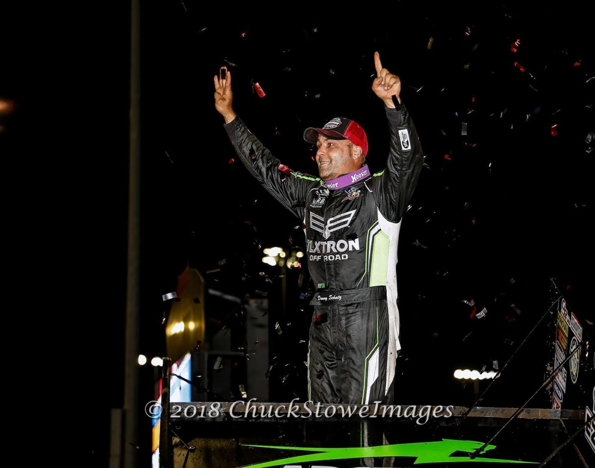 Schatz scores 12th win of Outlaw season at Knoxville; secures runner-up finish on night two