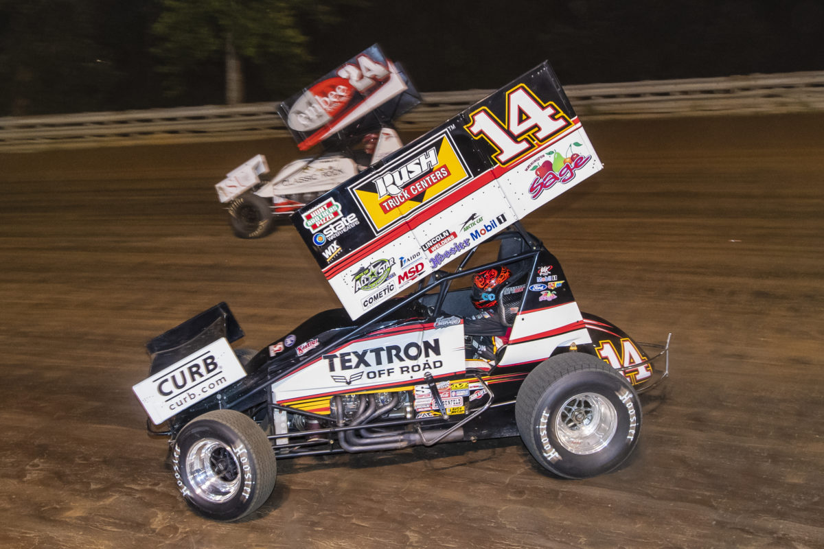 Tony Stewart earned 360 Knoxville Nationals B-main start; New York with All Stars ahead