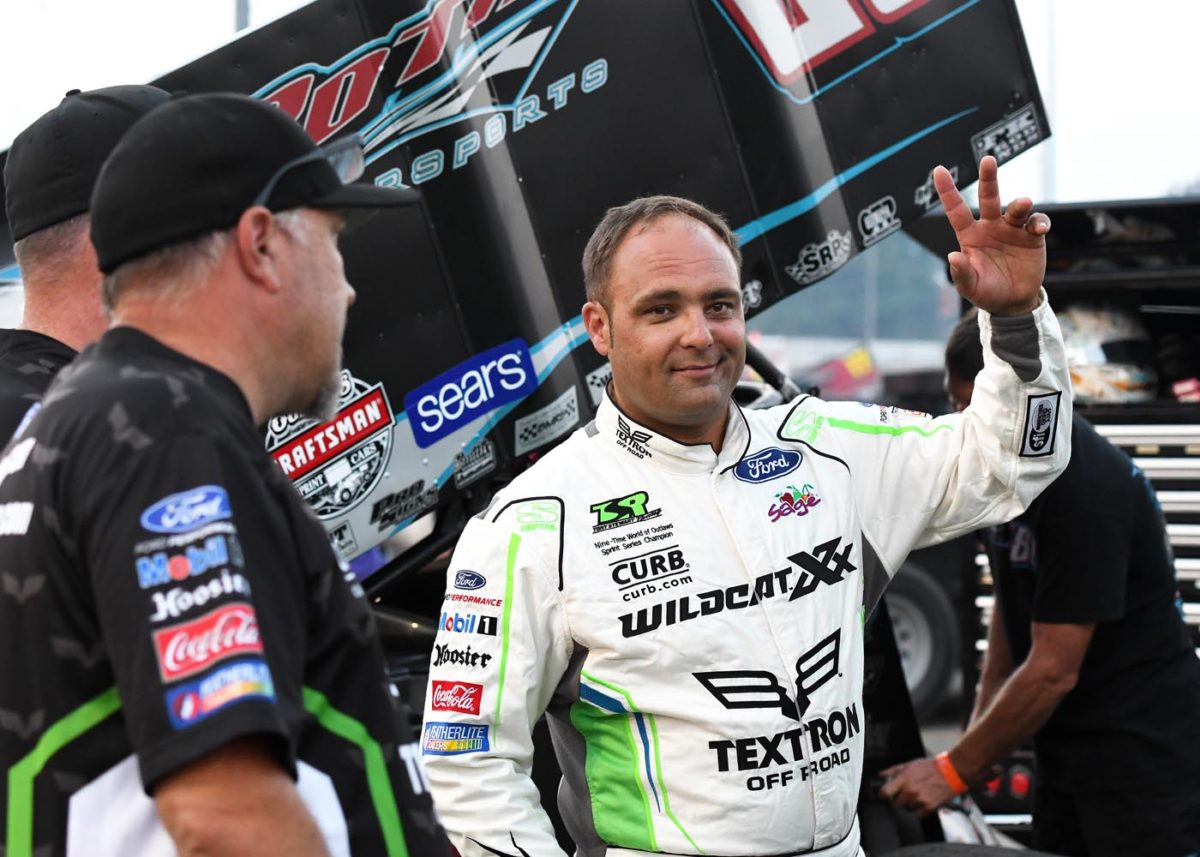 Donny Schatz ends California Outlaw swing with runner-up finish at Calistoga