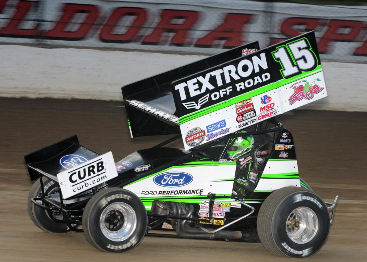 Schatz rebounds for podium at Lernerville after frustrating Eldora visit