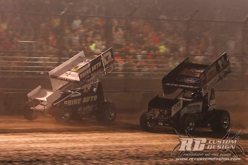 Smoke edged out by Balog at Plymouth Dirt Track