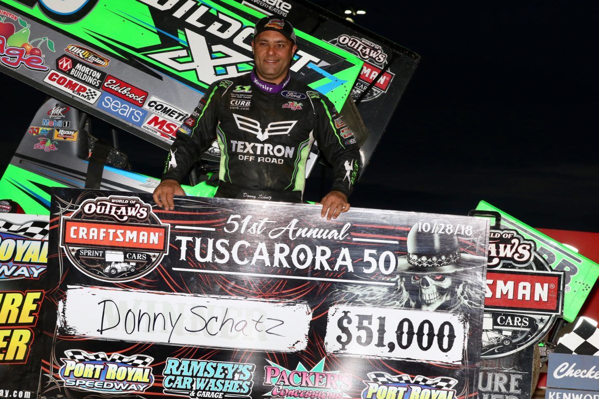 Donny Schatz earns historic Port Royal payday during 51st Tuscarora 50