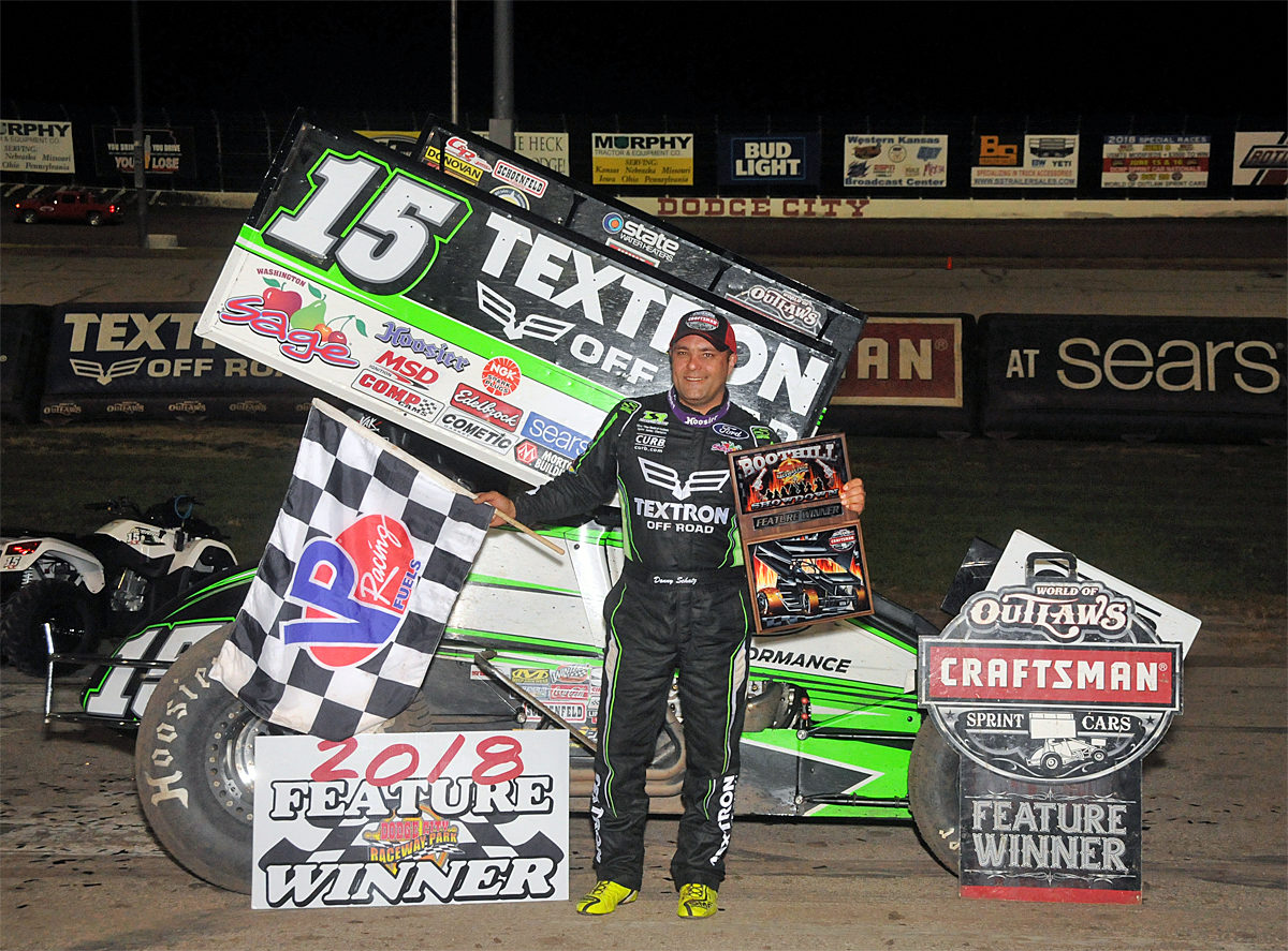 Schatz earns WoO win #20 during Outlaw Boot Hill Showdown