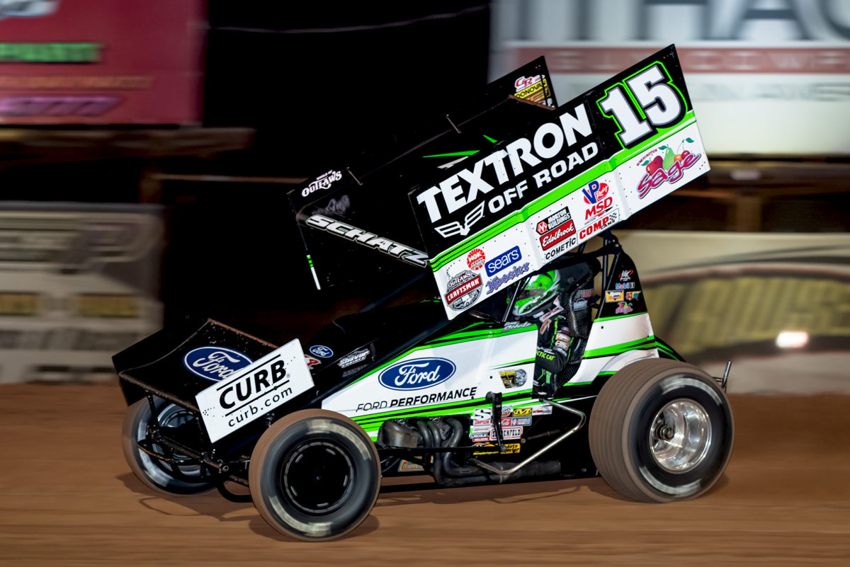 Schatz powers to a podium at Fulton Speedway