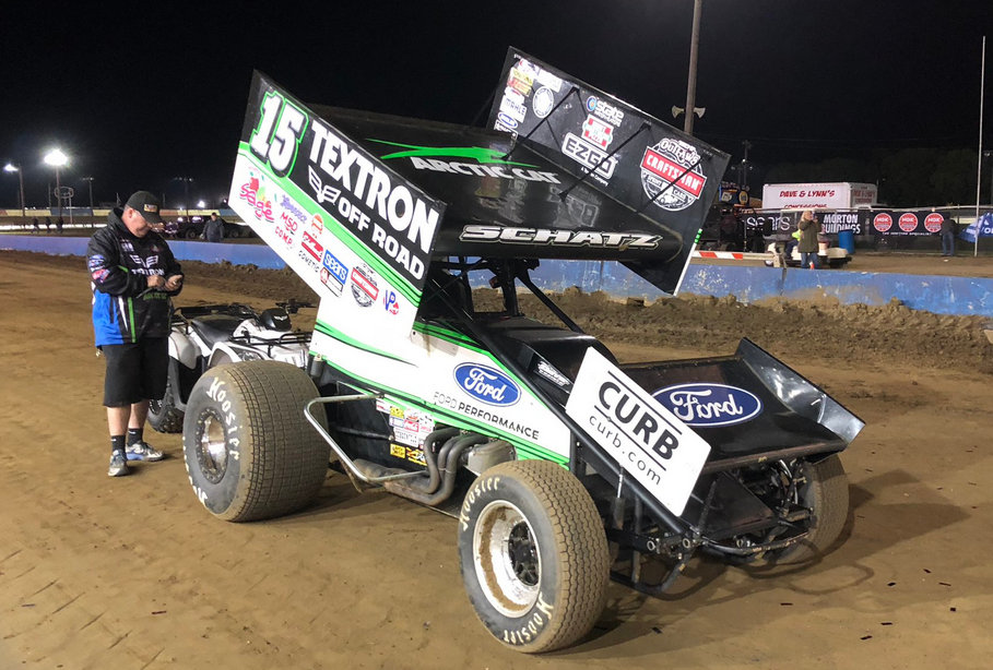 Schatz scores runner-up finishes at Terre Haute, Eldora; Kansas double next