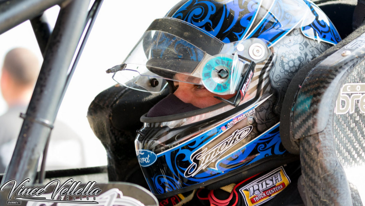 Stewart finishes second during IRA Wisconsin Sprint Car Championship