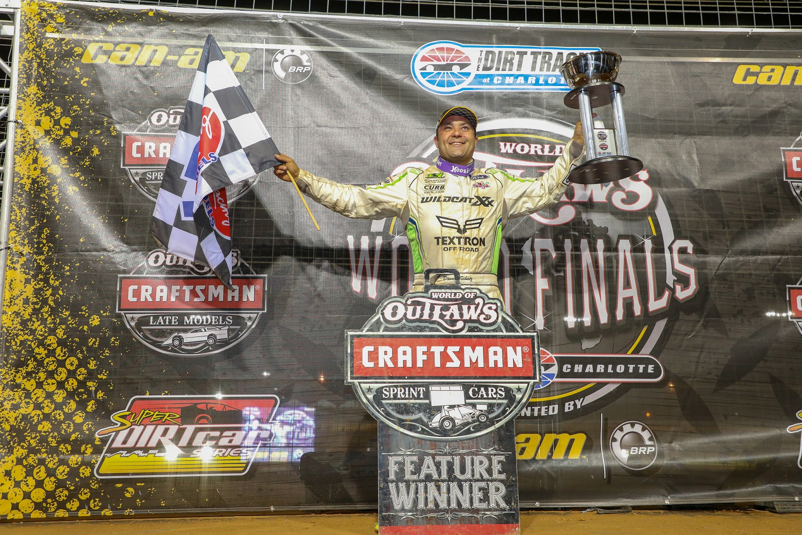Donny Schatz caps tenth WoO championship run with victory in Charlotte