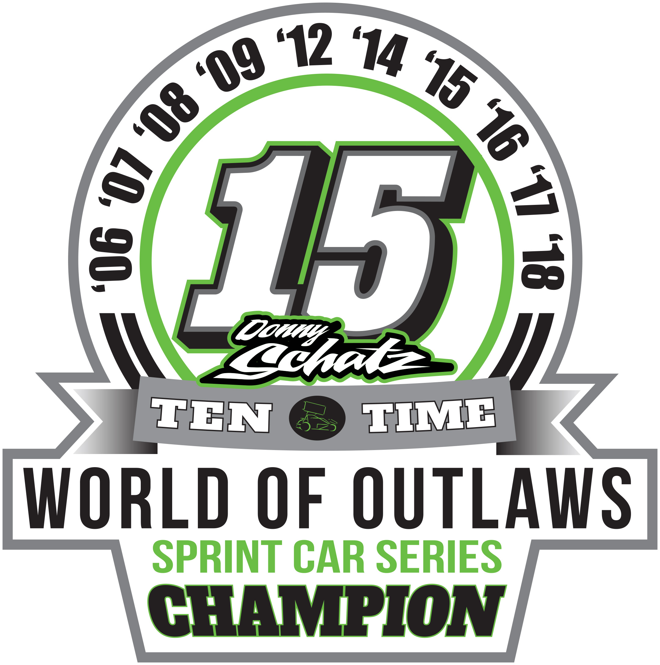 Donny Schatz earns tenth World of Outlaws championship