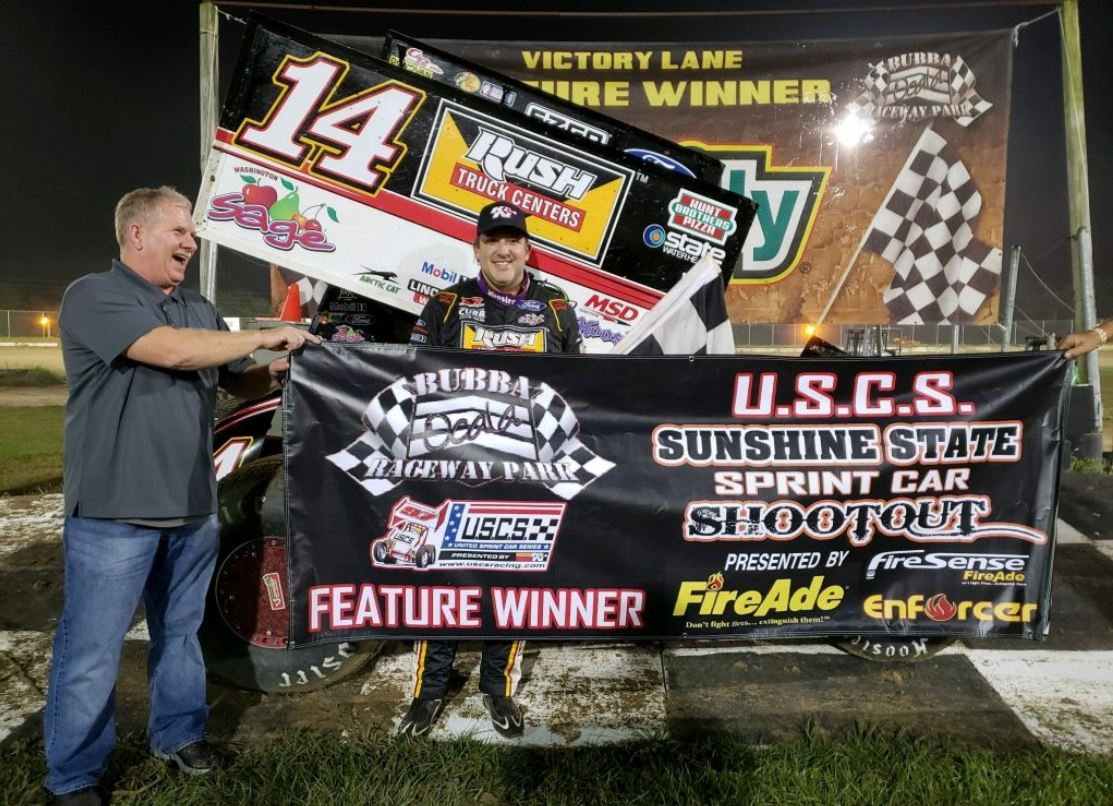 Bubba Raceway Park >> Smoke Earns Sunshine State Sprint Car Shootout Opener At Bubba
