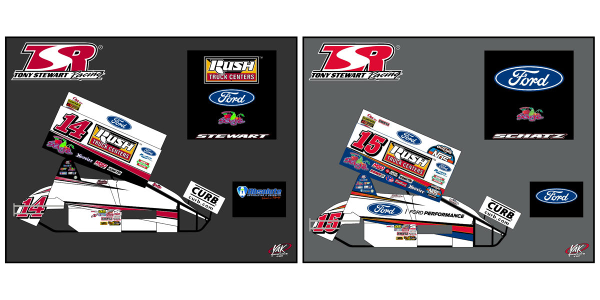 Tony Stewart/Curb-Agajanian Racing Announces 2019 Partner Line-up