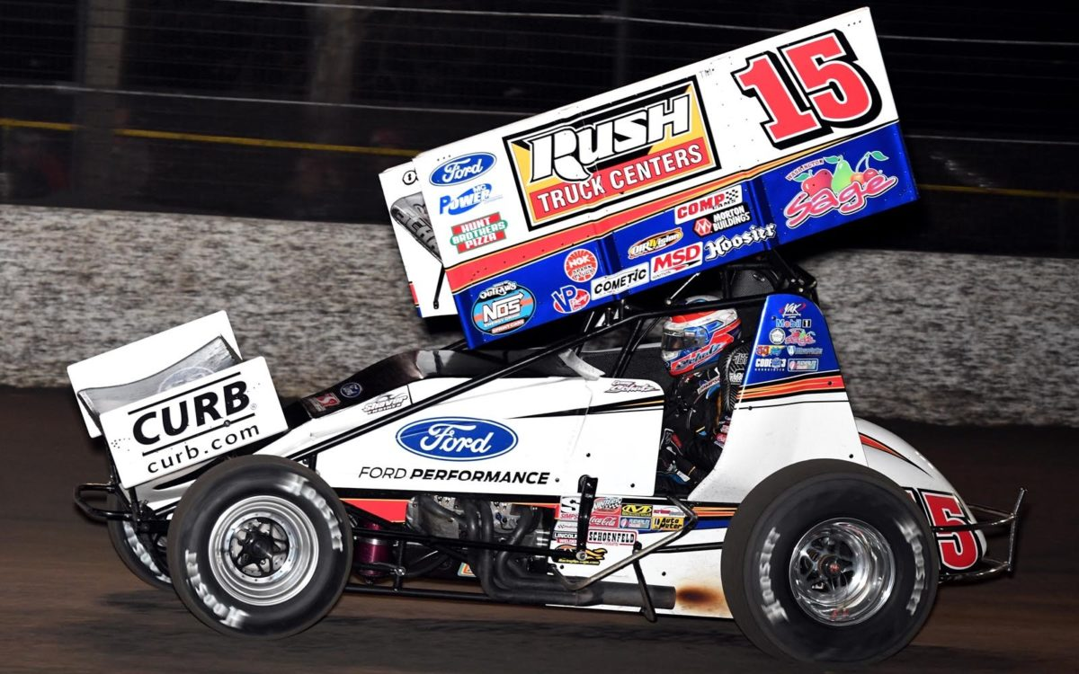 Donny Schatz hard charges with All Stars, earns back-to-back top-fives with Outlaws