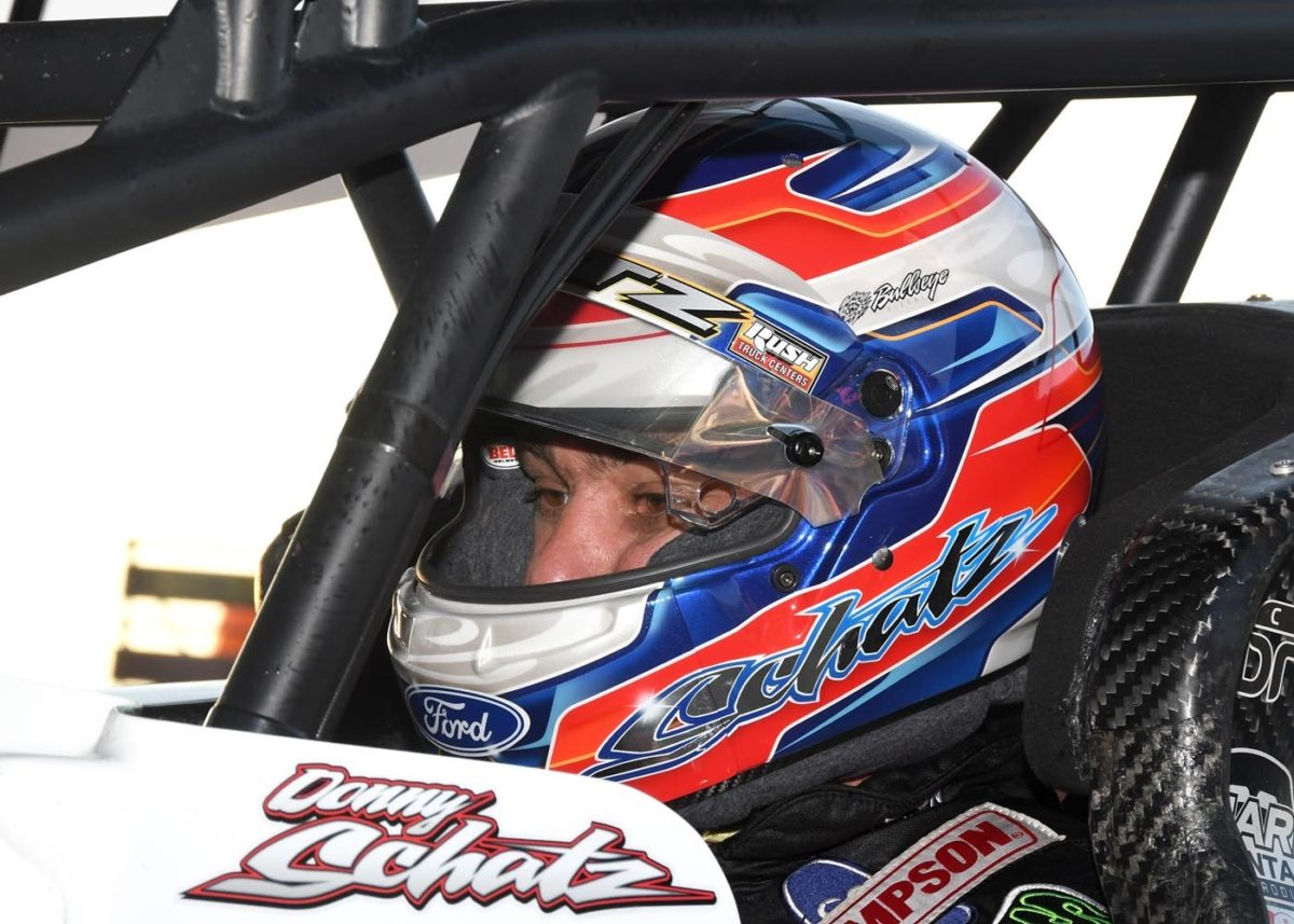 Schatz garners top-ten at Thunderbowl Raceway