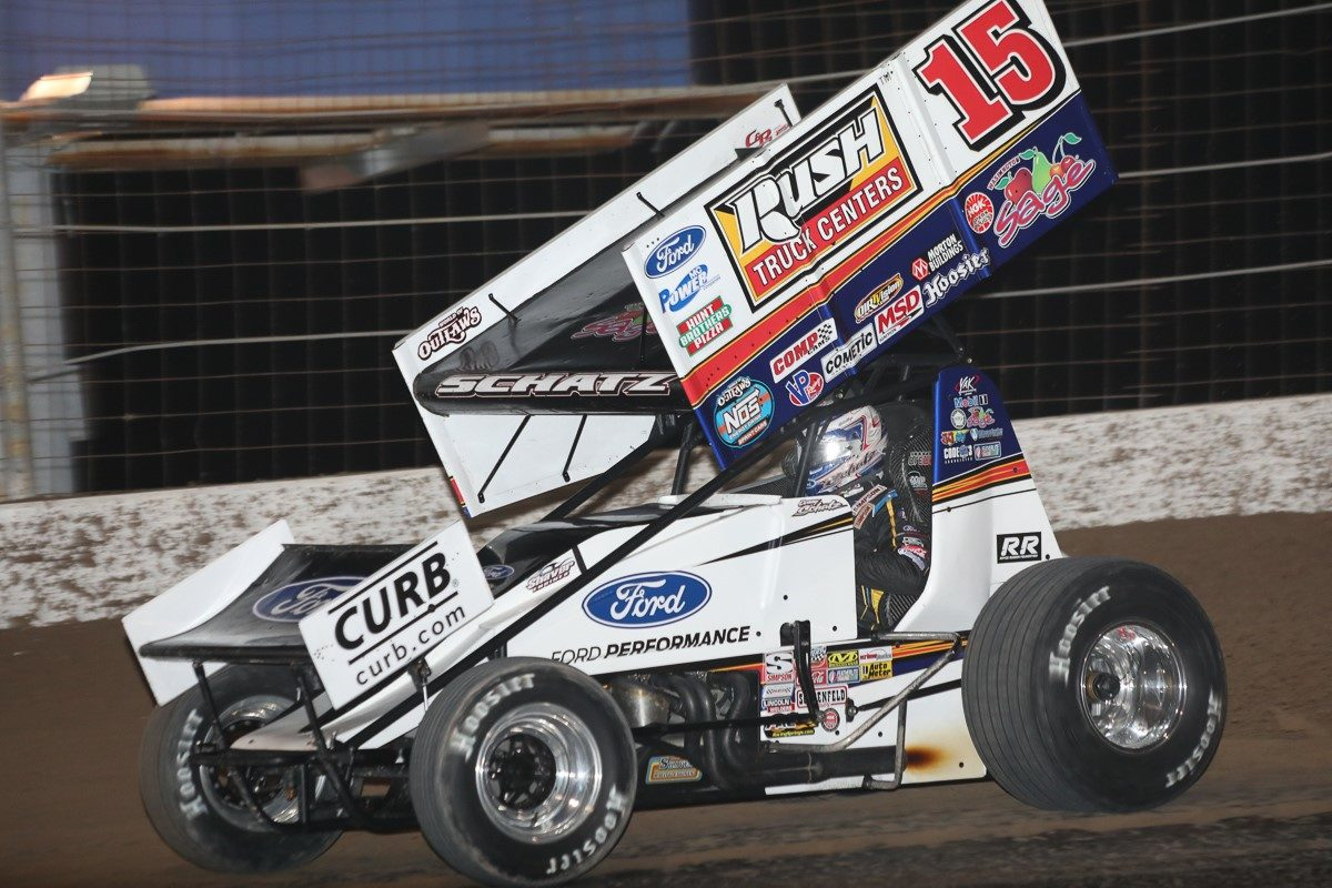 Donny Schatz consistent through Stockton, chips away at Pittman's point lead