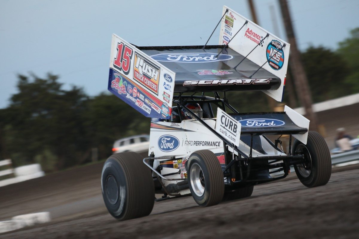 Donny Schatz earns top-five during visit to Devil's Bowl Speedway