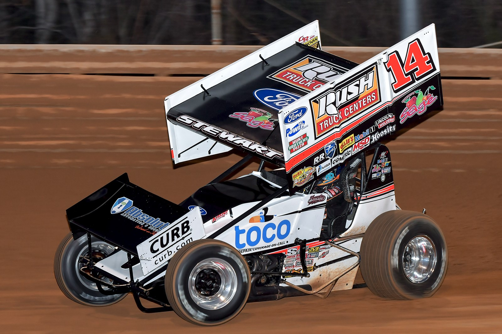 Stewart finishes sixth during Thursday Night Thunder at Virginia Motor Speedway