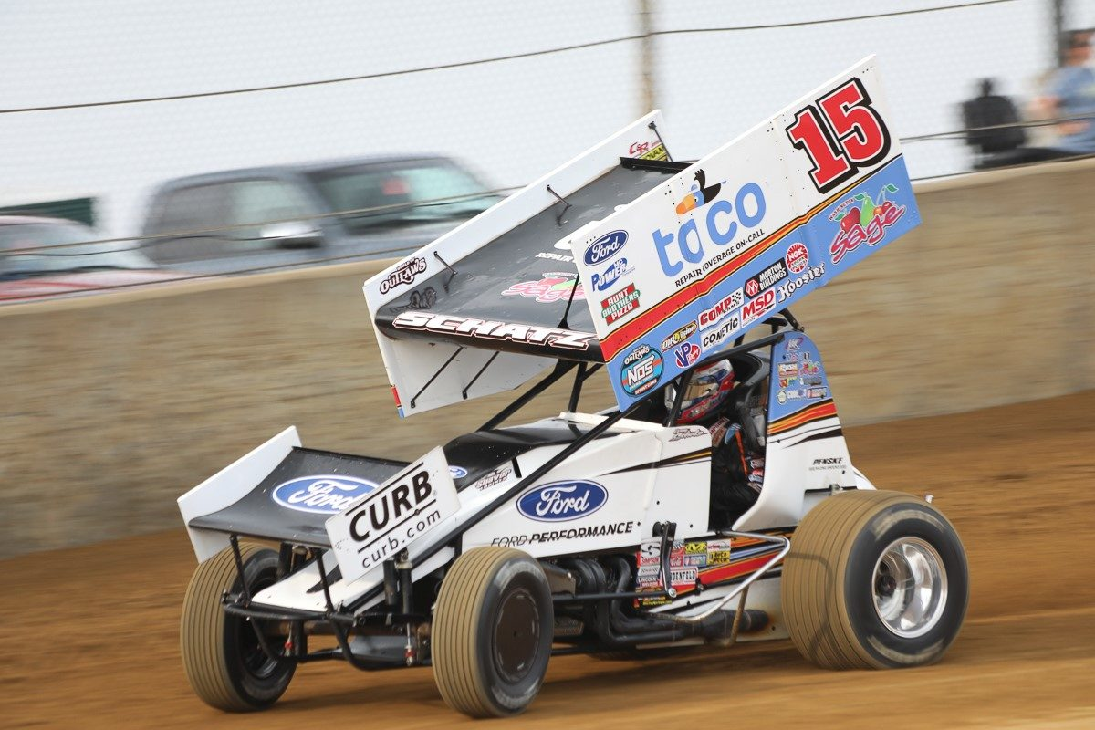 Donny Schatz ends long, holiday week with two podiums in four starts