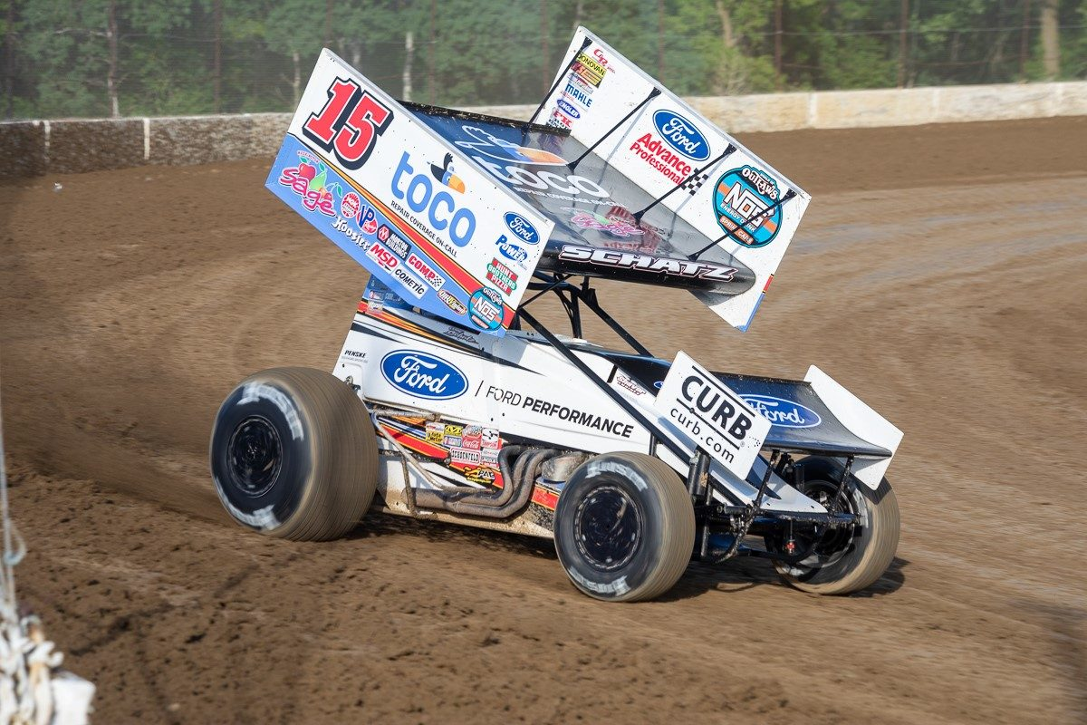 Donny Schatz earns top-five at River Cities to highlight trip through North Dakota and Minnesota