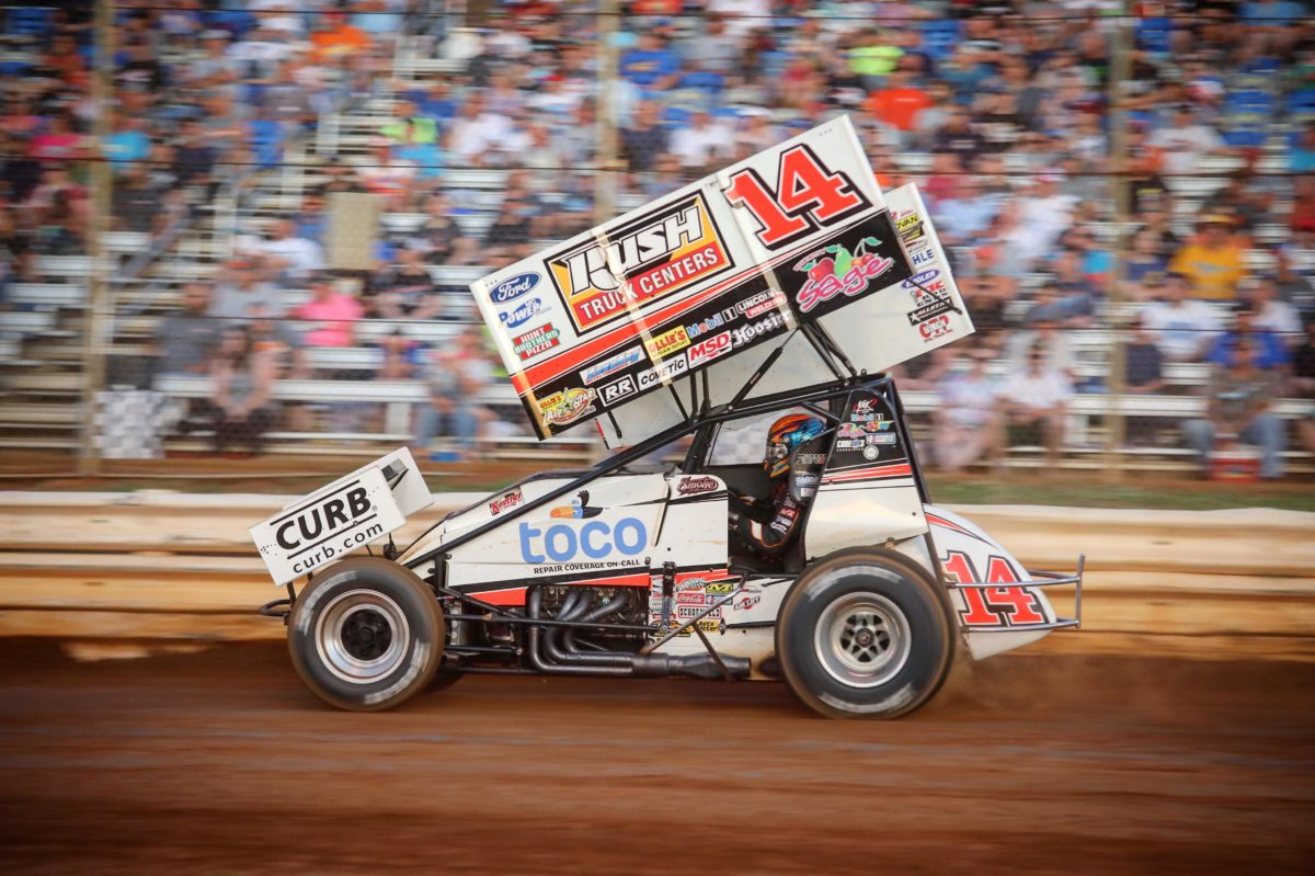 Smoke highlights PA Sprint Speedweek campaign with second place finish at Selinsgrove