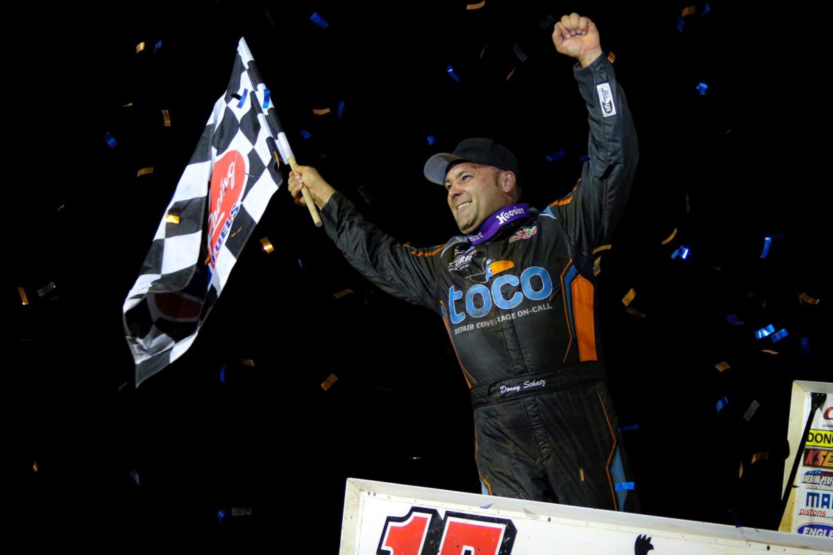 Schatz earns $20,000 Summer Nationals victory at Williams Grove Speedway