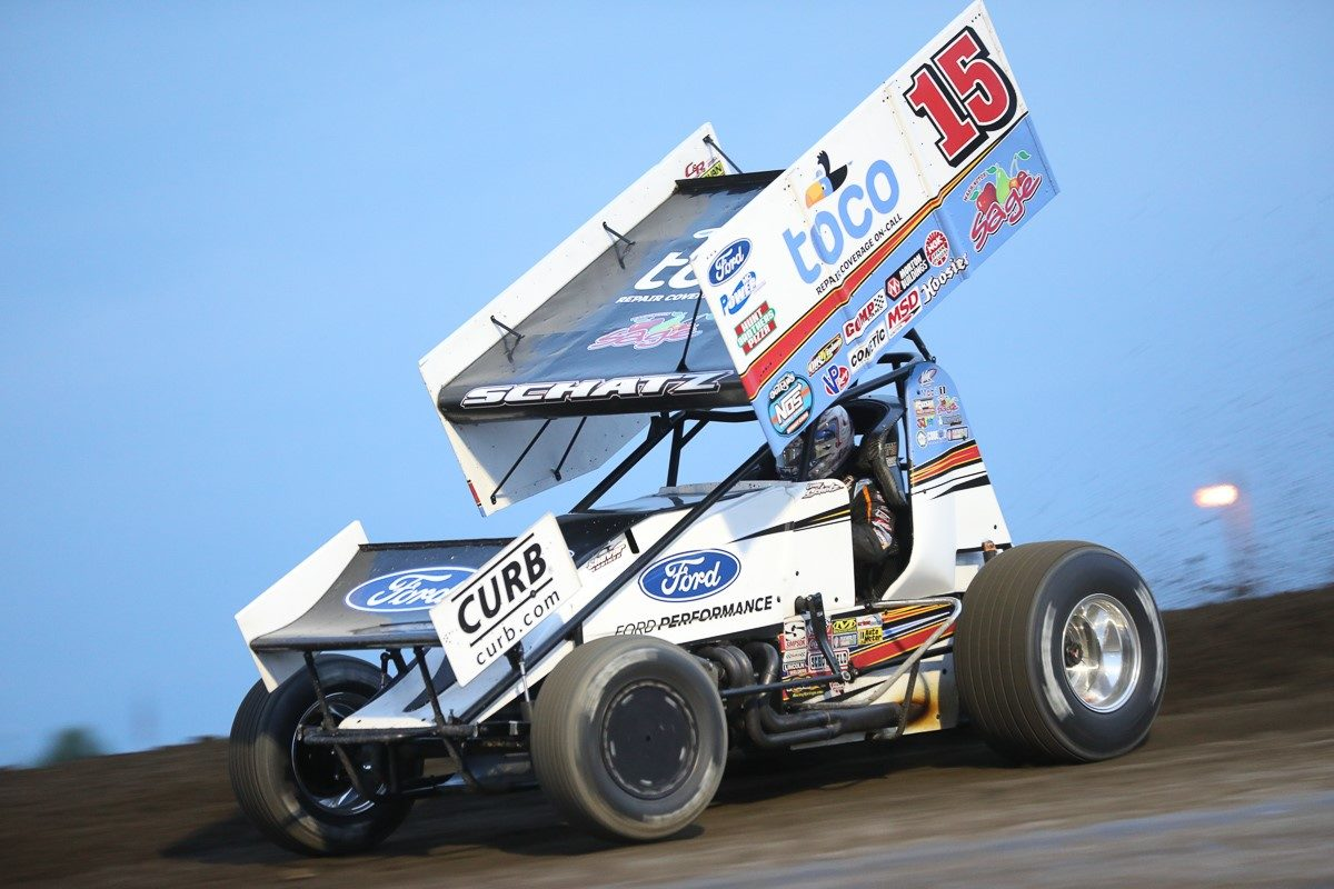 Schatz earns three consecutive top-tens during sweep through South Dakota and Wisconsin
