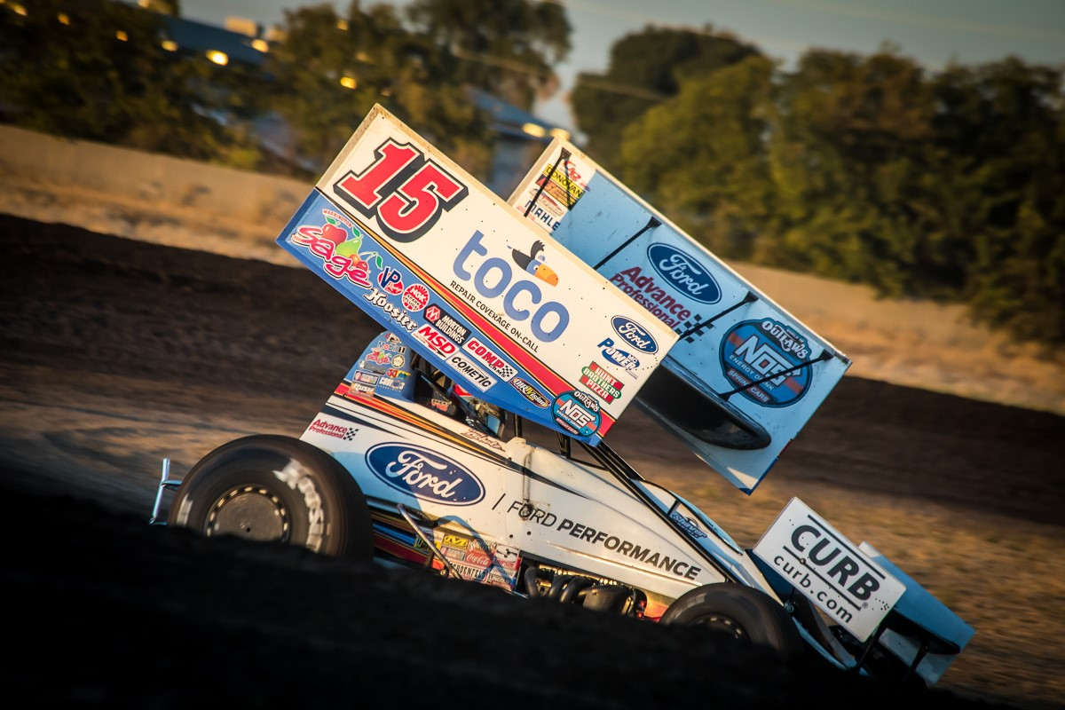Donny Schatz leaves California with podium finish at Stockton, top-five at Calistoga