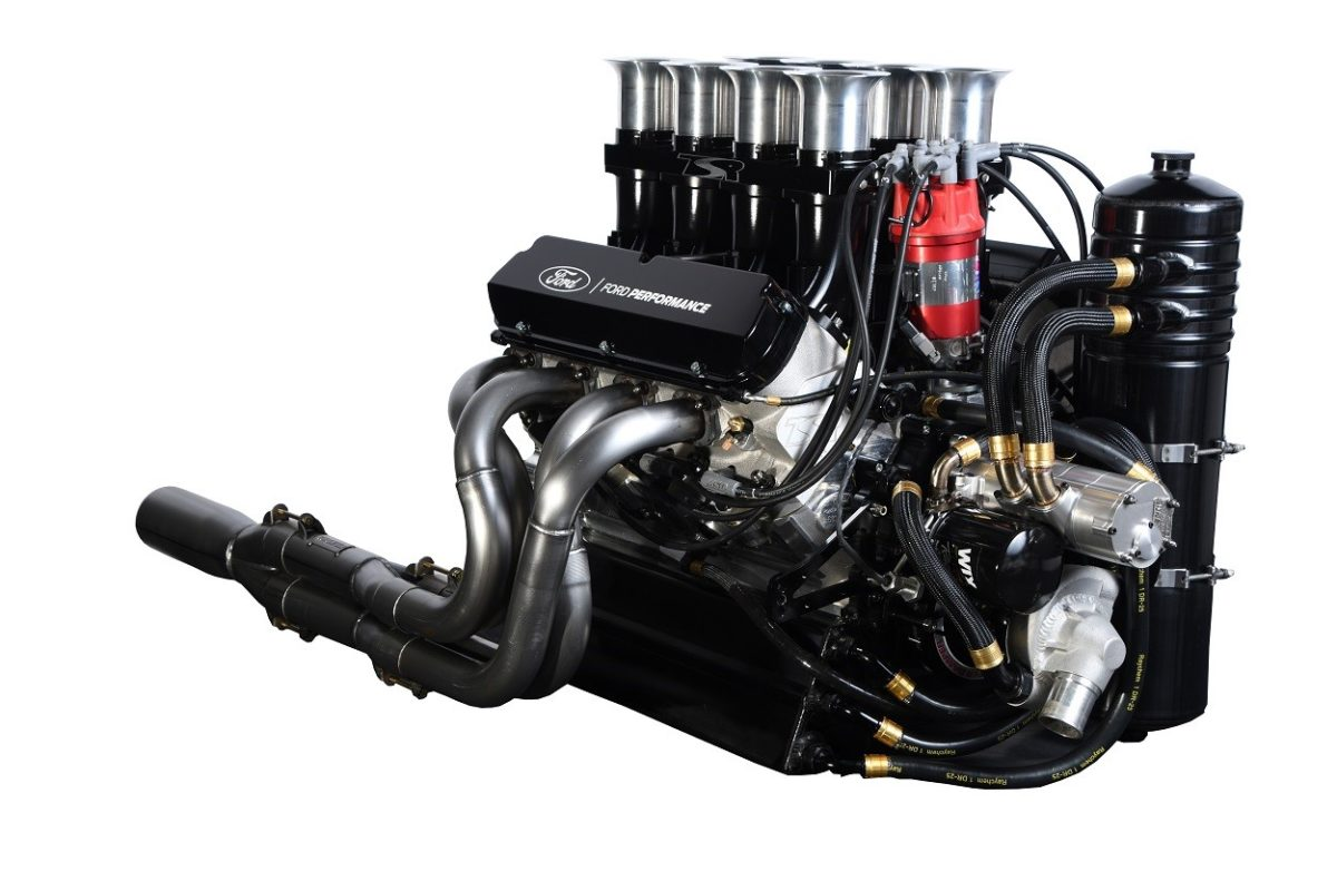 Ford Performance and Tony Stewart Racing Announce New FPS 410 Sprint Car Engine Already Up To Speed