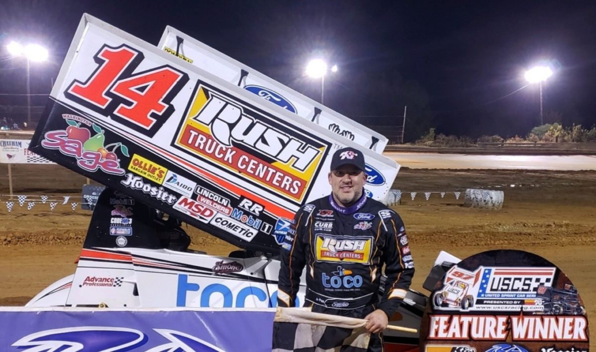 Tony Stewart finds tenth sprint car win of 2019 during Chatham Speedway visit