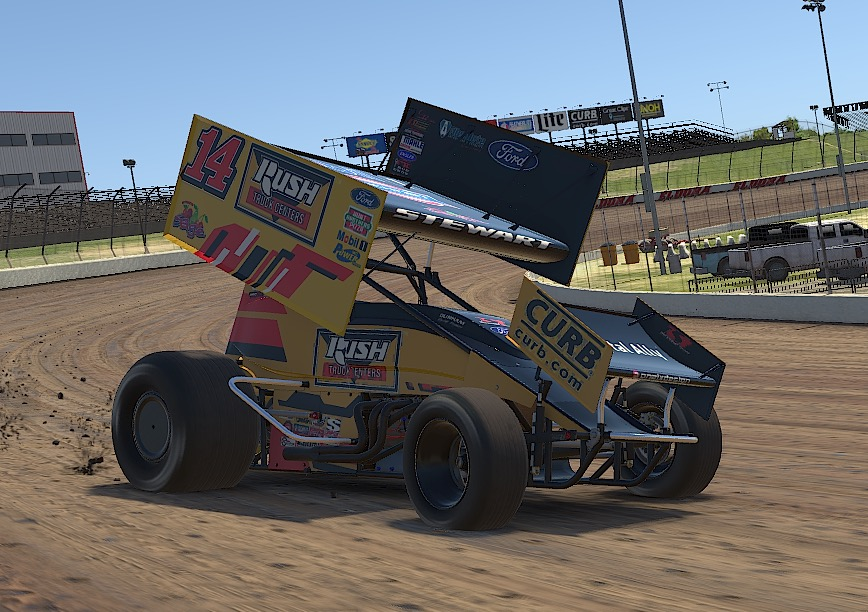 TONY STEWART/CURB-AGAJANIAN RACING PUTS SKIN IN THE ONLINE GAME