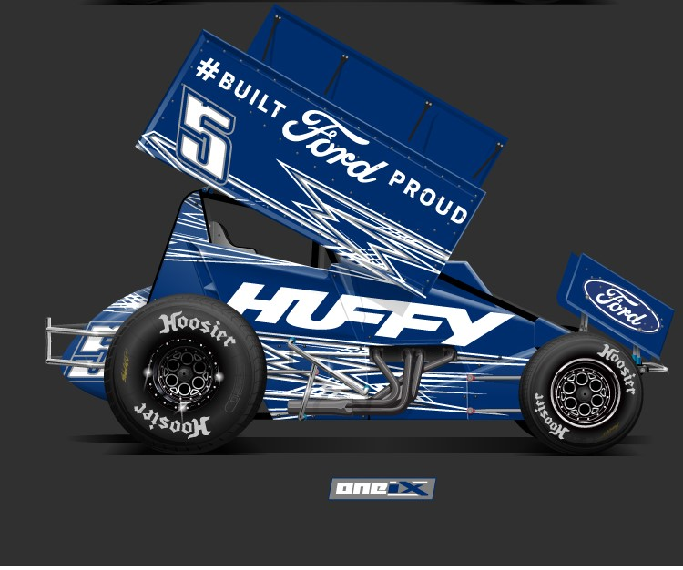 Briscoe Gets #BuiltFordProud Dirty: SHR Driver Returns to Virtual Dirt Track Roots In Tuesday's World of Outlaws iRacing Invitational