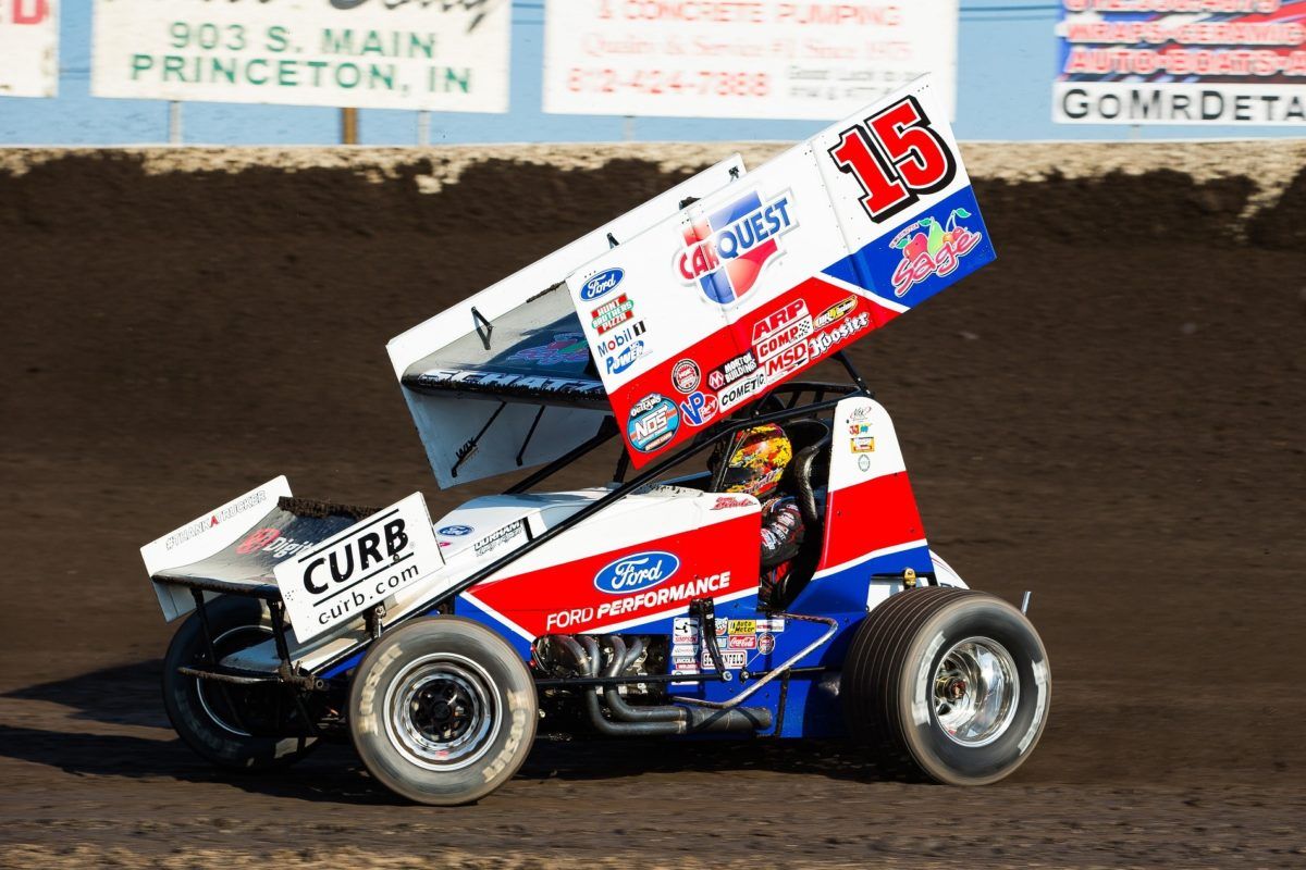 Schatz opens doubleheader at Tri-State Speedway with 11th-place finish