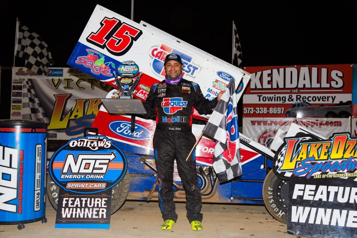 Schatz caps Lake Ozark visit with pair of podiums, victory on Saturday