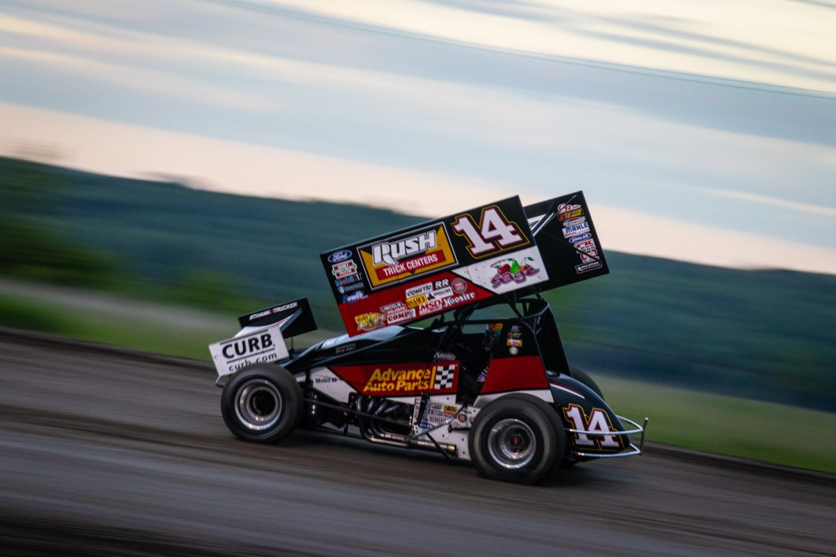 Tony Stewart closes out weekend at Park Jefferson with top-five against All Stars & IRA