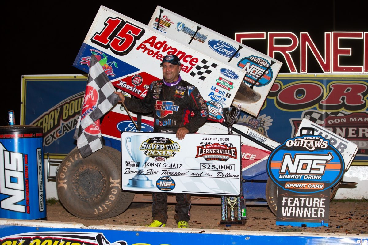 Schatz caps four-race week with Don Martin Memorial Silver Cup win for $25,000