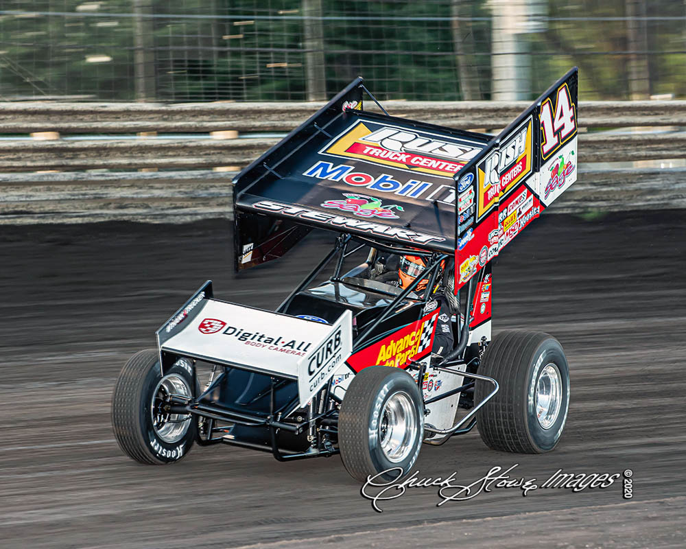 Tim Shaffer finds success for Tony Stewart Racing during consecutive Knoxville starts