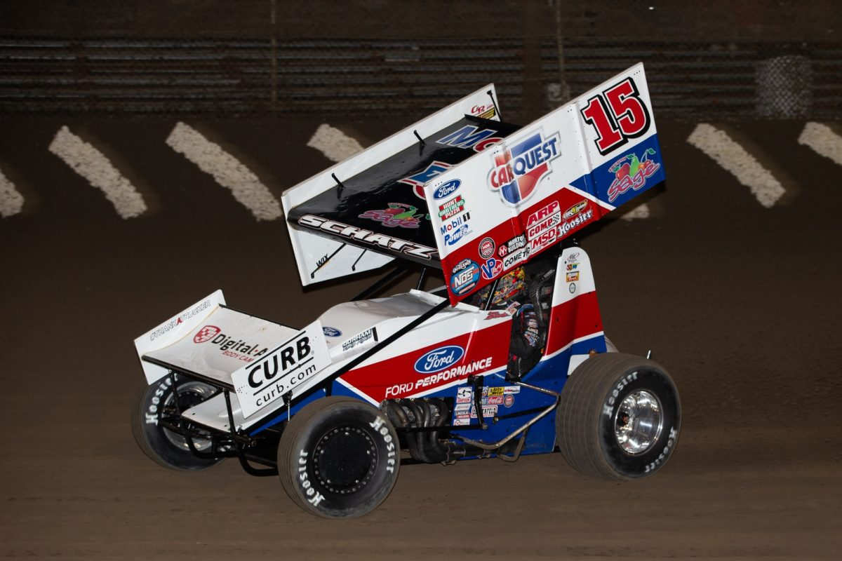 Donny Schatz caps Ironman weekend with pair of top-fives
