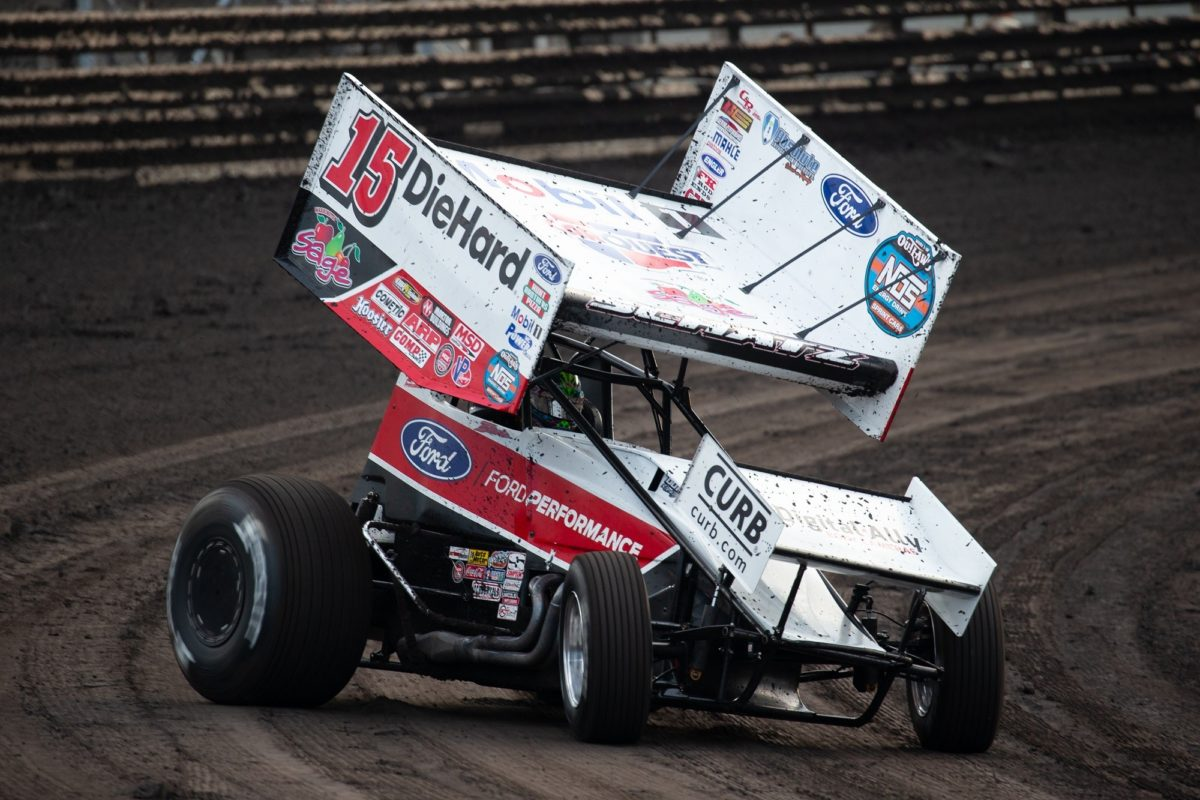 Donny Schatz charges through alphabet during Knoxville's Capitani Classic