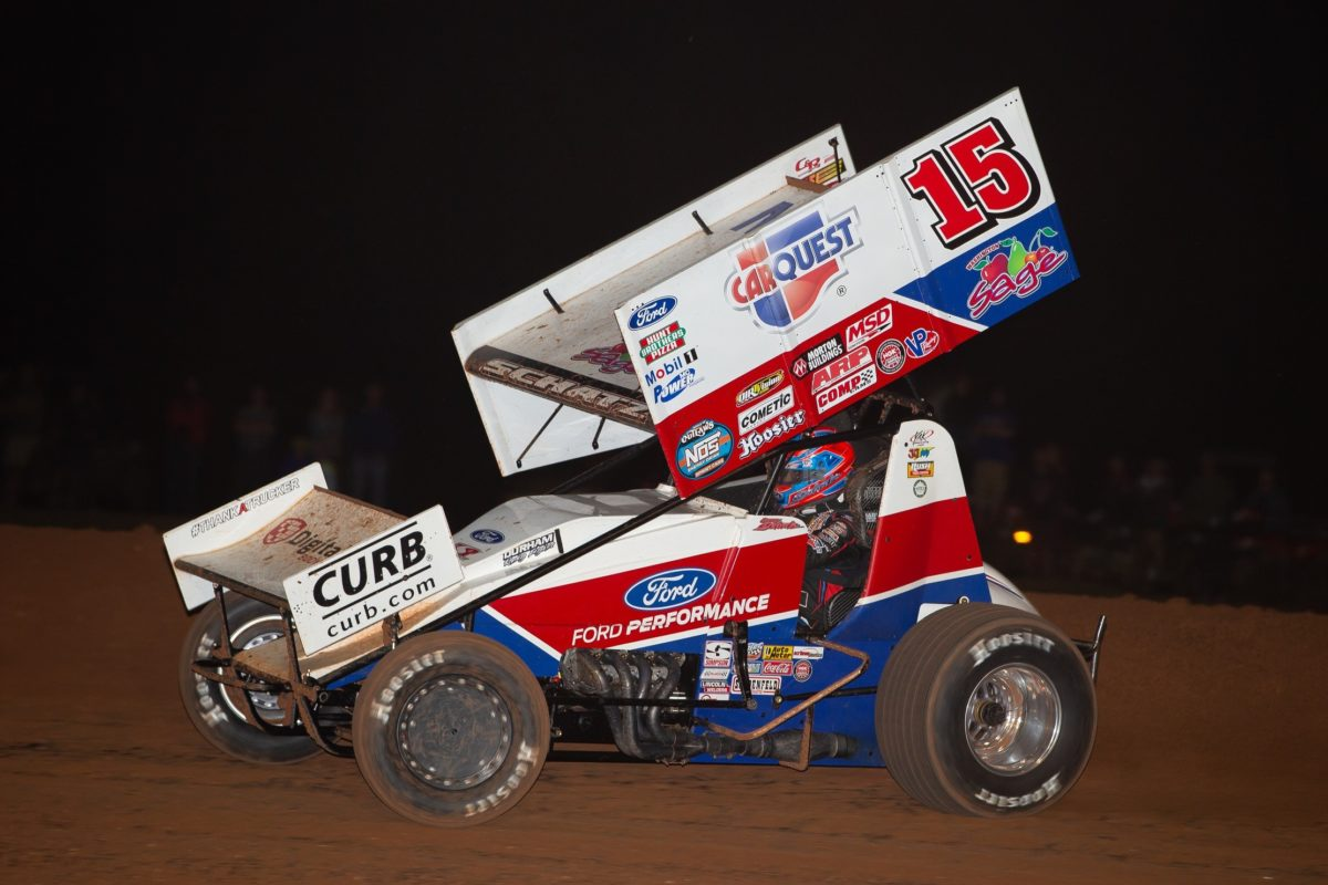 Donny Schatz sixth in Lawton and Devil's Bowl starts